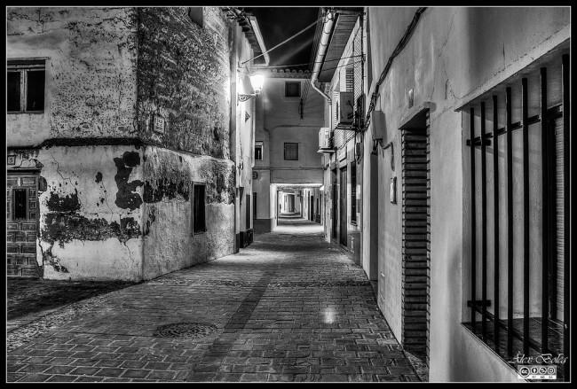 Calle de los Cubiertos. Gelsa, Zaragoza.