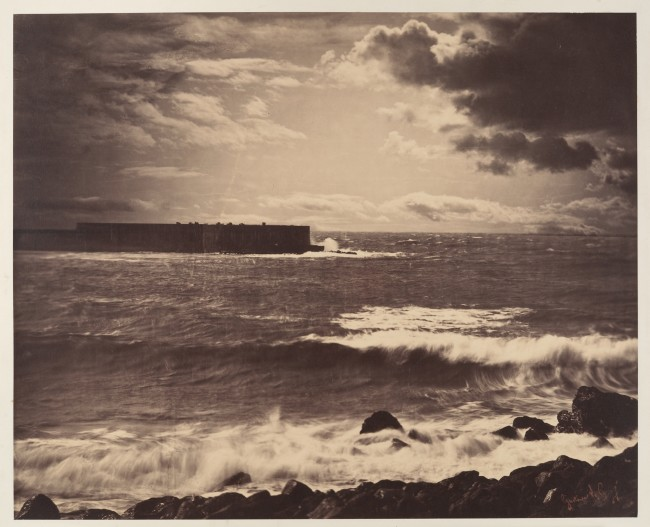 The Great Wave - Gustave Le Gray (Dominio Público)