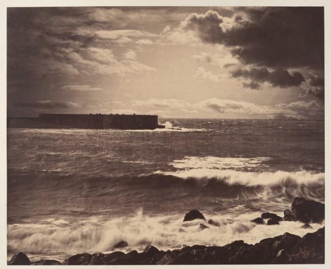 Gustave Le Gray The Great Wave 650x527 - Los límites de los concursos fotográficos.